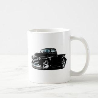 Camión negro 1950-52 de Chevy Taza Clásica