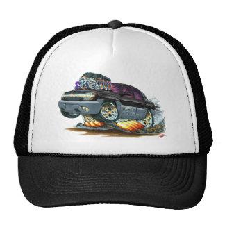 Camión negro de la avalancha gorra