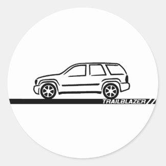 Camión negro del pionero pegatinas