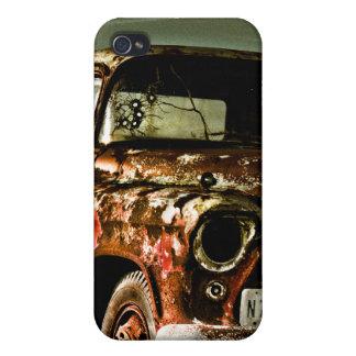 Camión olvidado de Chevy iPhone 4 Protectores