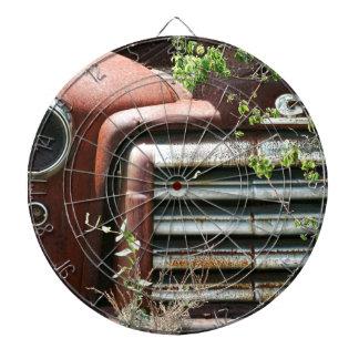 Camión oxidado de GMC del vintage Tablero Dardos