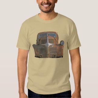 Camión oxidado playera
