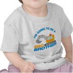 Camión picador que va a ser un hermano mayor camisetas