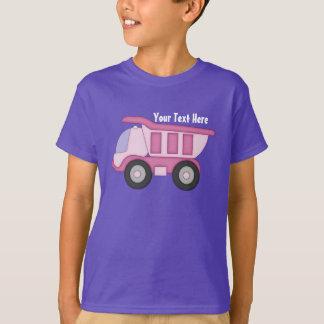Camión rosado (personalizado) playera