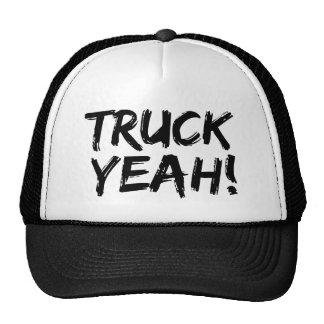 Camión sí gorro de camionero
