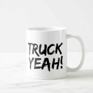 Camión sí taza básica blanca