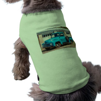 Camión - un camión viejo internacional camisetas mascota