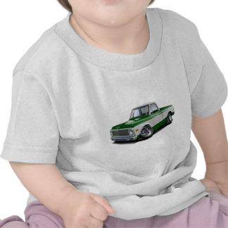 Camión Verde-Blanco 1970-72 de Chevy C10 Camiseta