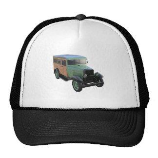 Camión verde clásico de Woody Gorro