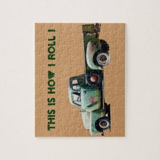 Camión viejo: Es cómo ruedo Rompecabeza