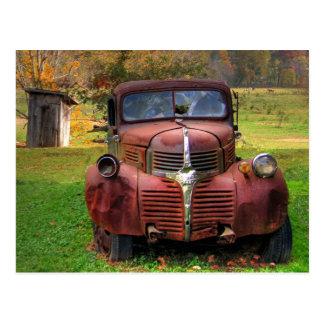 Camión viejo postales