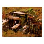 Camión viejo, pueblo fantasma cerca de Jerome, Ari Tarjetas Postales