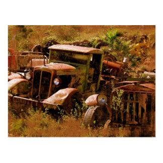 Camión viejo pueblo fantasma cerca de Jerome Ari Tarjetas Postales