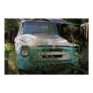 Camión viejo Sacramento PA120705 Impresiones