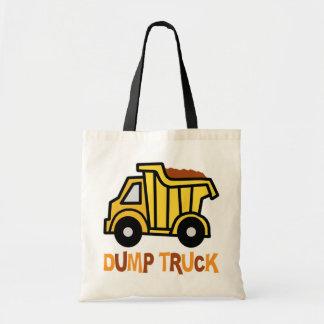 Camión volquete bolsas
