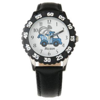 Camión volquete del portador de anillo relojes de pulsera