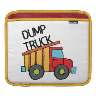Camión volquete funda para iPads