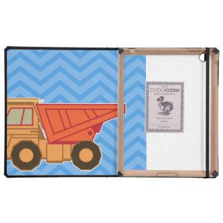 Camión volquete pesado del equipo del transporte iPad protectores