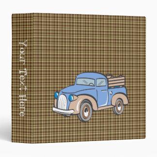 Camión y tela escocesa retros de Brown