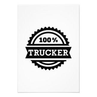 Camionero 100% invitación