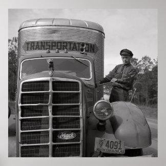 CAMIONERO 1943 y CAMIÓN de MACK Impresiones