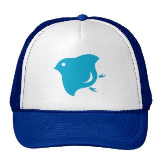 camionero azul del chorlito gorras