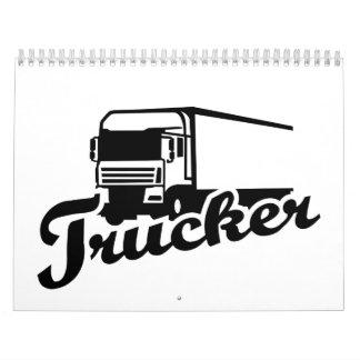 Camionero Calendarios De Pared