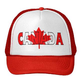Camionero de Canadá Gorras De Camionero