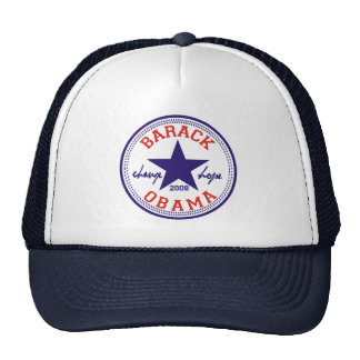 Camionero de la estrella de Barack Obama Gorro