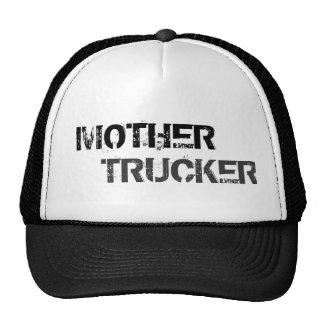 Camionero de la madre gorros bordados