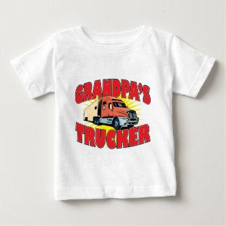 camionero de los grampas playera de bebé