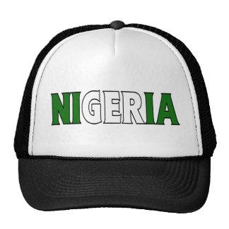 Camionero de Nigeria Gorras De Camionero