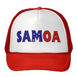 Camionero de Samoa Gorro De Camionero