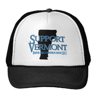 Camionero de Vermont de la ayuda Gorro
