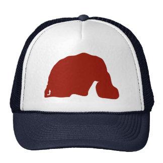 Camionero del bloque del circuito del elefante gorra