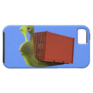 camionero del caracol 3d (editable) funda para iPhone SE/5/5s