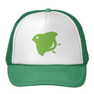 camionero del chorlito verde gorra