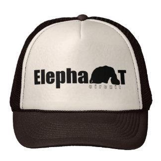 Camionero del circuito del elefante gorra