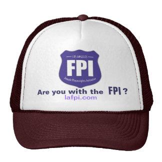 Camionero del LA FPI, también Gorras De Camionero