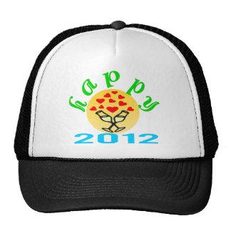 camionero elegante Hat♥♪ de NewYear 2012 ♫♥Happy Gorra