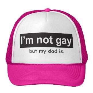 Camionero gay del papá gorra