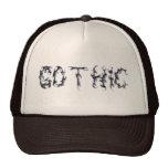 Camionero gótico gorra