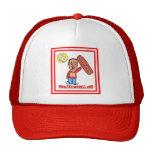 Camionero Hat-FD1 (rojo) Gorras