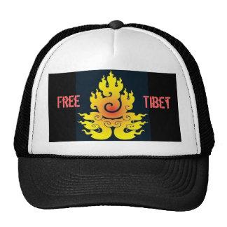 Camionero libre de Tíbet Gorras