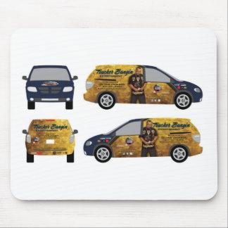 Camionero oficial Bangin Ent. Engranaje para el us Alfombrillas De Raton
