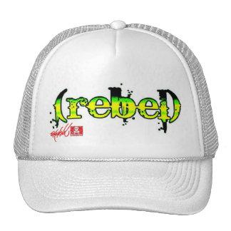camionero verde (rebelde) gorra