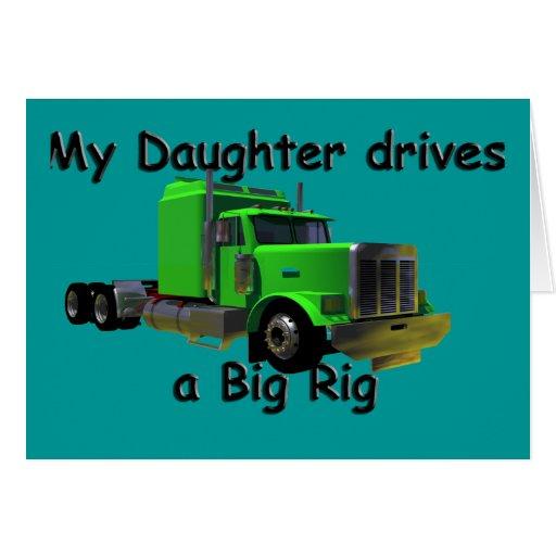 Camioneros - mi hija conduce un aparejo grande felicitaciones