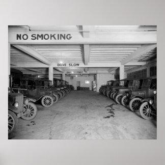 Camiones de la compañía telefónica: 1925 impresiones