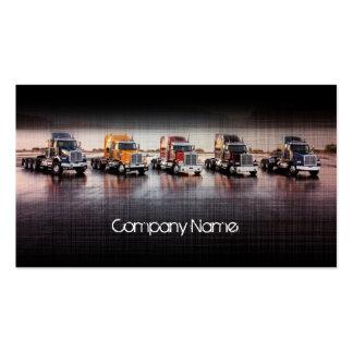Camiones de lino de la capa en el linecard tarjetas de visita