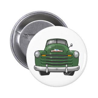 Camioneta pickup 1948 de Chevrolet Pin Redondo De 2 Pulgadas